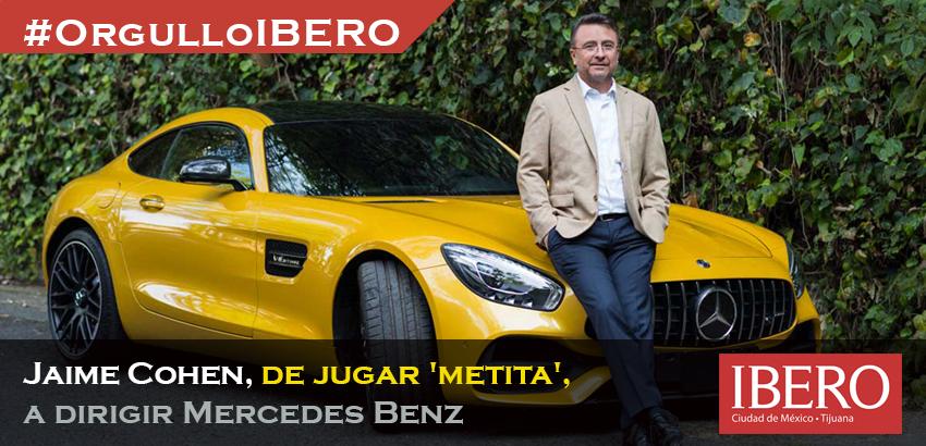 #OrgulloIBERO Jaime Cohen