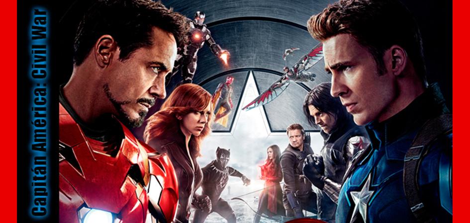 Capitán América Civil War Revista Juventudes