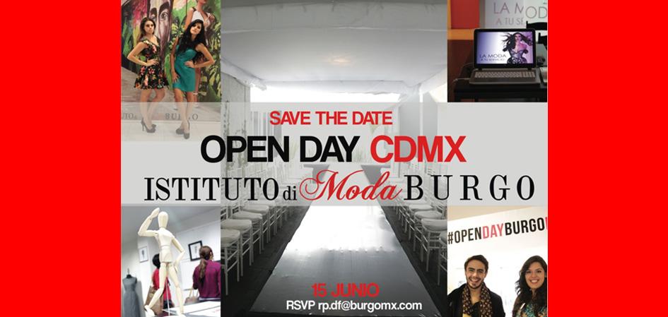 Open DAY CDMX Istituto di Moda BURGO Rev. Juventudes