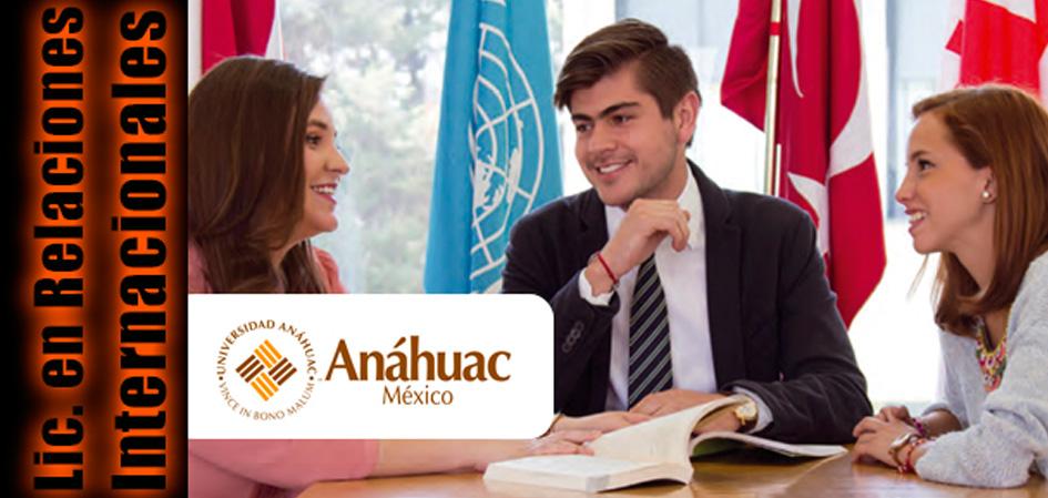 Licenciatura en Relaciones Internacionales Universidad Anahuac Sur Revista Juventudes