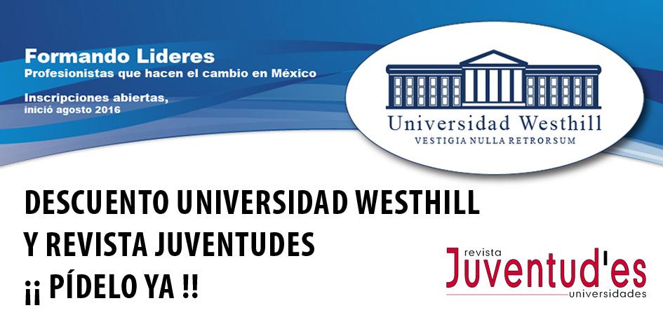 Descuento Universidad Westhill Revista Juventudes