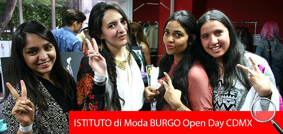 Open day CDMX Istituto Di Moda Burgo Juventud'es