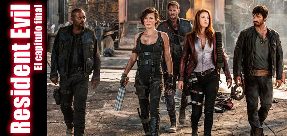 Resident Evil Capítulo Final Revista Juventud'es