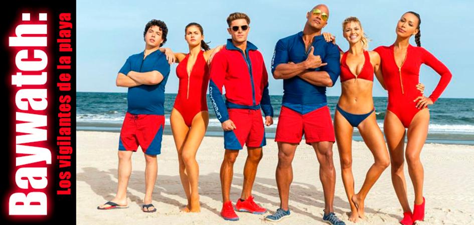 Baywatch: Los vigilantes de la playa Revista Juventud'es