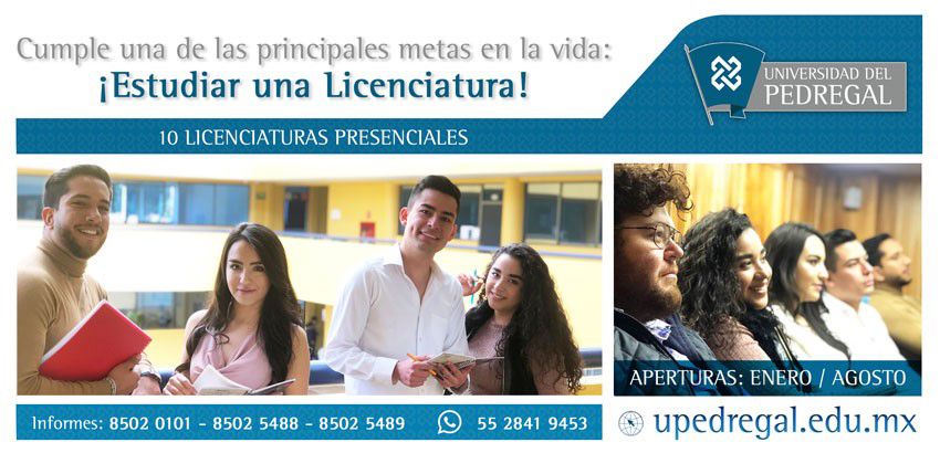 Universidad del Pedregal Revista Juventud'es