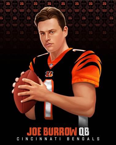 Draft 2020 Revista Juventud'es Joe Burrow
