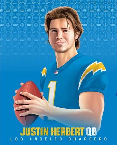 Revista Juventud'es Justin Herbert