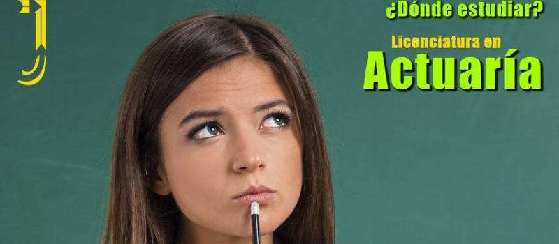 Licenciatura en Actuaría Revista Juventud'es